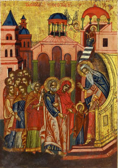 Presentation of the Theotokos Icon- Icon II