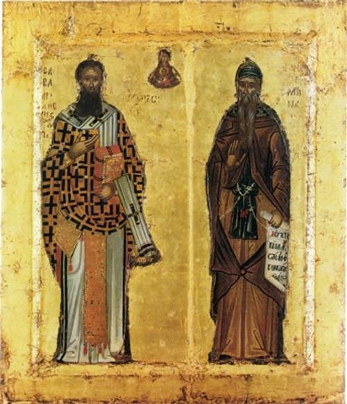 Saints Sava and Simeon (Stefan Nemanja) Icon