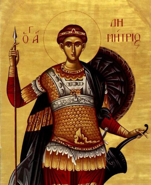 St. Demetrios Icon- Icon IV