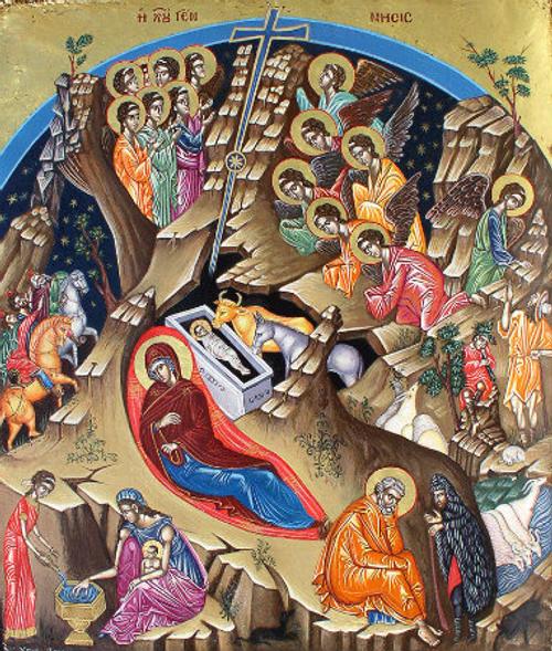 Nativity of Christ Icon- Icon V