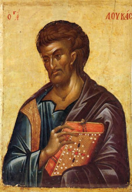 St. Apostle & Evangelist Luke Icon- Icon III