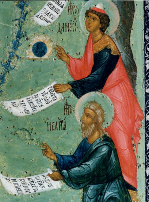 Prophets Daniel and Isaiah Icon