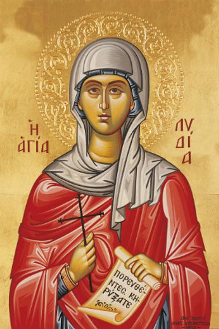 St. Lydia Icon- Icon II