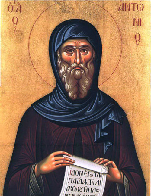 St. Anthony the Great Icon- Icon III