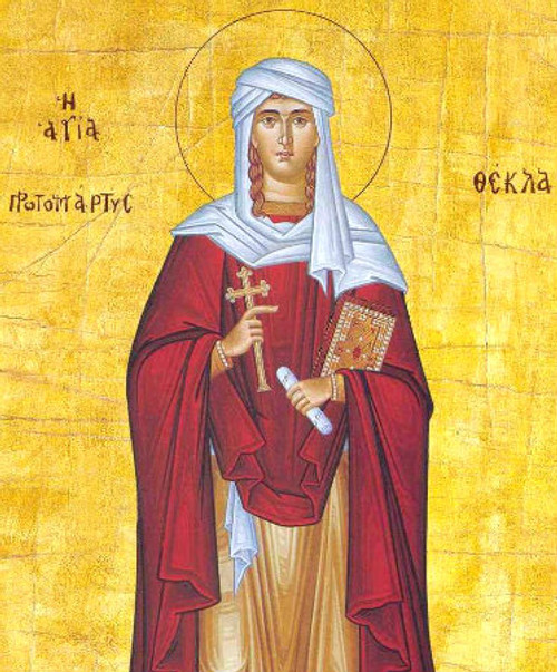 St. Thekla Icon