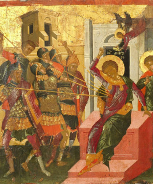 St. Demetrios (Martyrdom) Icon