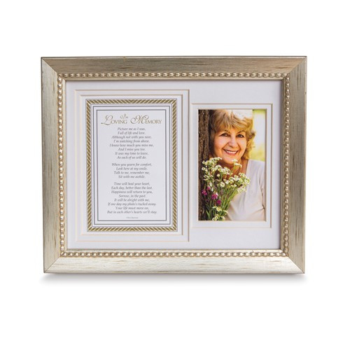 In Loving Memory Sentiment Photo Memorial Frame