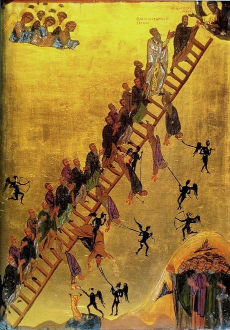 Ladder of Divine Ascent Icon