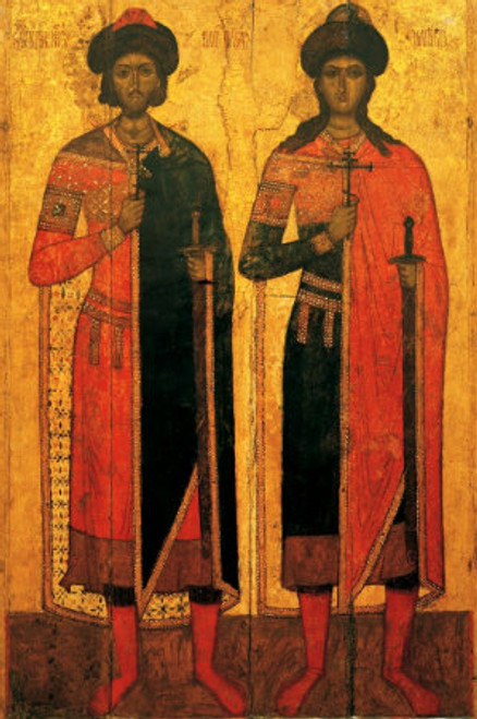 Ss. Boris and Gleb Icon