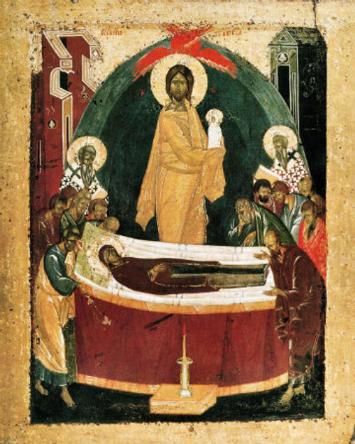 Dormition of the Theotokos Icon- Icon III