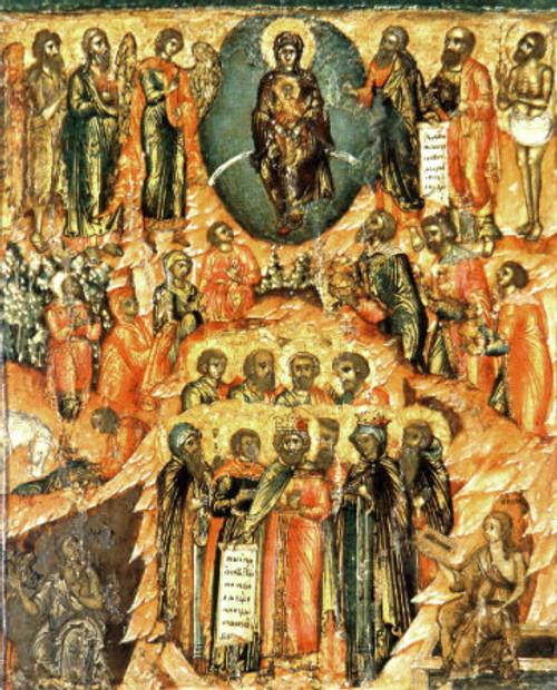 Synaxis of the Theotokos Icon