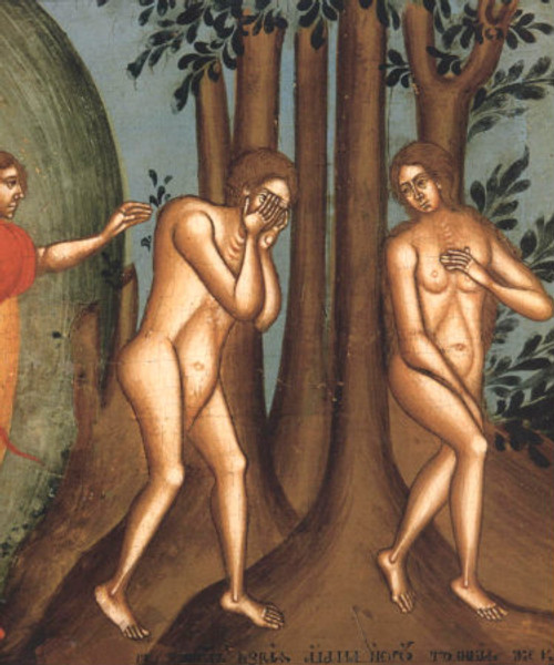 Adam and Eve in Eden Icon- Icon II