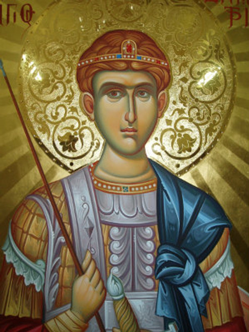 St. Demetrios Icon