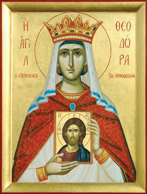 St. Theodora Icon