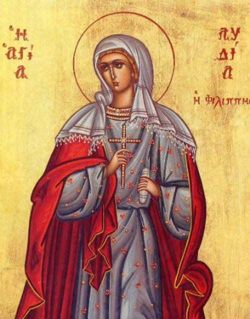 St. Lydia Icon