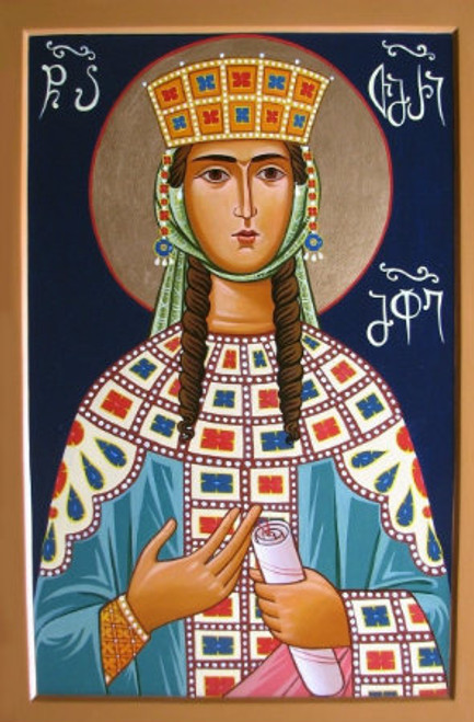 St. Queen Tamar Icon