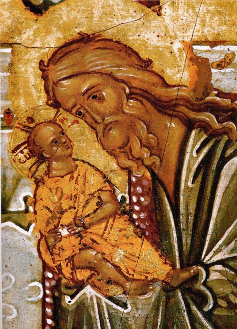 St. Simeon the God-Receiver Icon