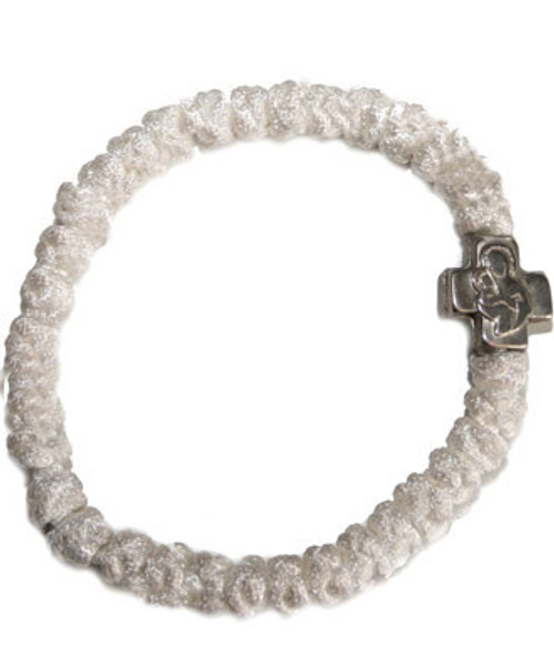 33 Knot Prayer Rope (White)