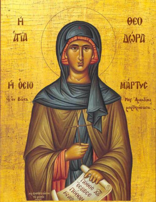 St. Theodora Icon- Icon IV
