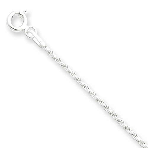 Sterling Silver 1.5mm Rope Chain- Various Lengths