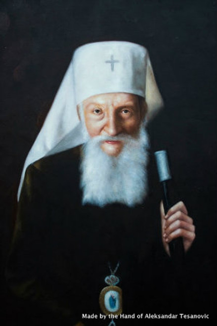 *Handpainted Icon: Patriarch Pavle