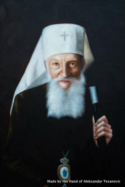 *Handpainted Icon: Patriarch Pavle