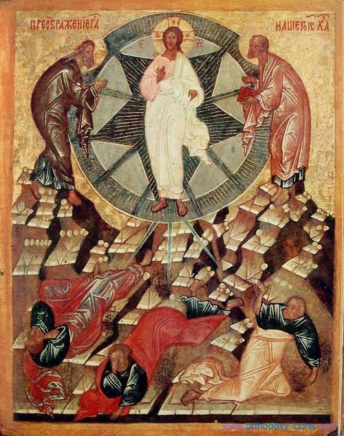 Transfiguration of Christ Icon- Icon III