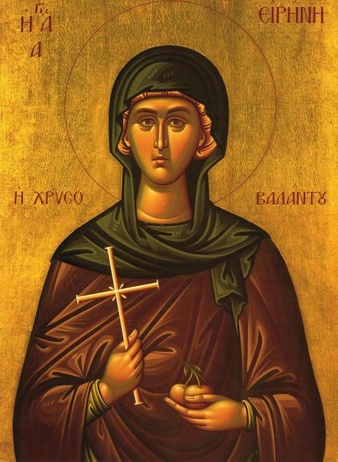 St. Irene Chrysovalantu Icon- Icon IV