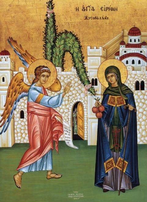 St. Irene Chrysovalantu Icon- Icon III