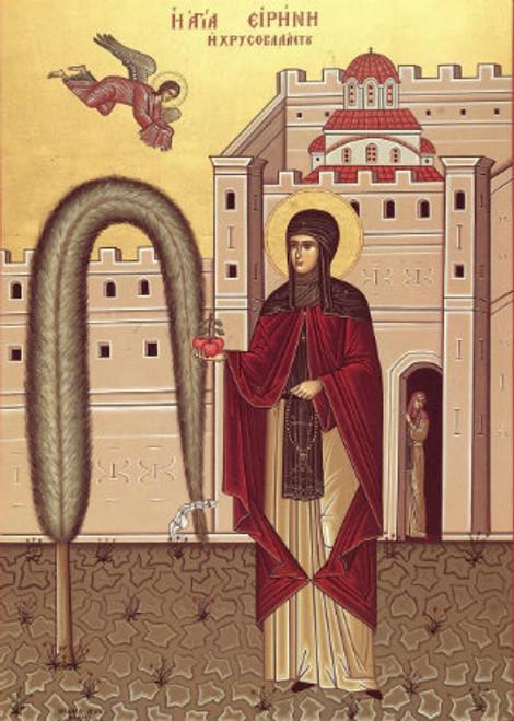 St. Irene Chrysovalantu Icon- Icon II