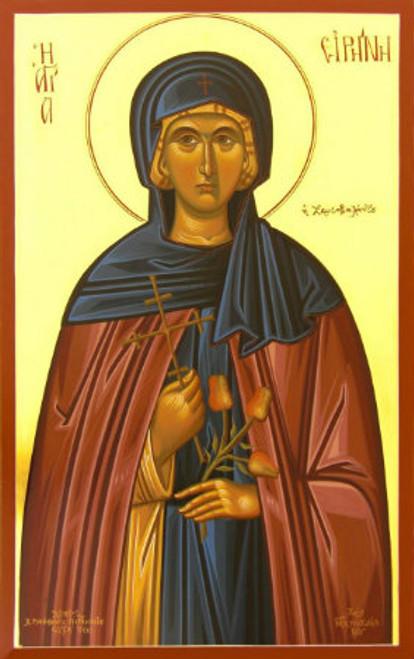 St. Irene Chrysovalantu Icon