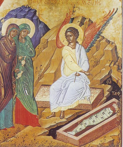 Resurrection of Christ Icon- (Empty Tomb)