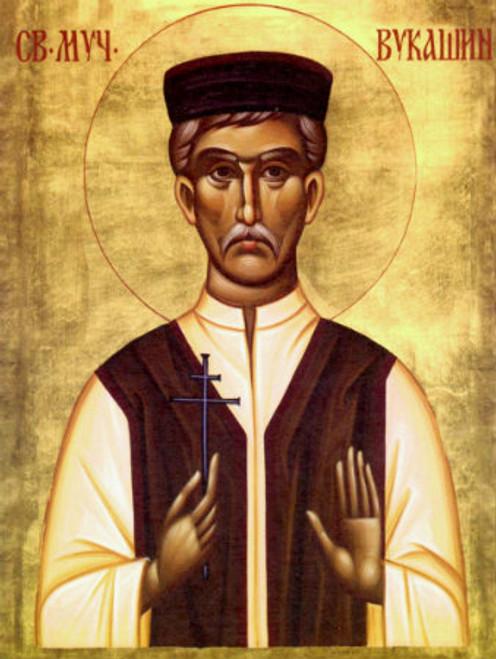 St. Vukasin of Jasenovac Icon- Icon II