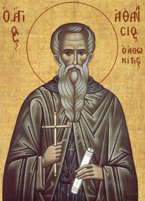 St. Athanasios of Mt. Athos Icon