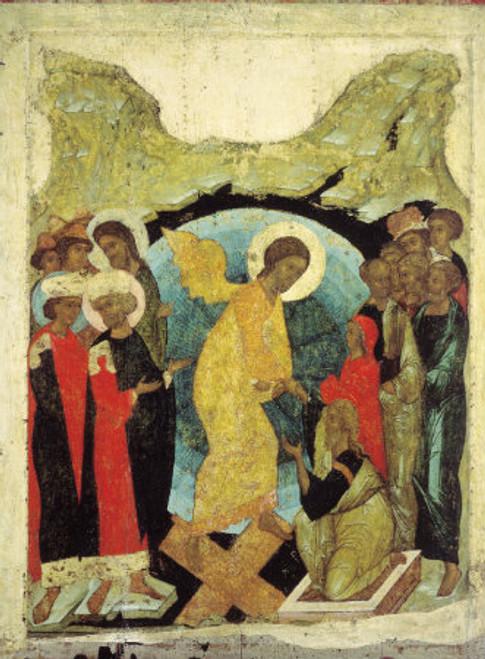 Resurrection of Christ Icon (Rublev)