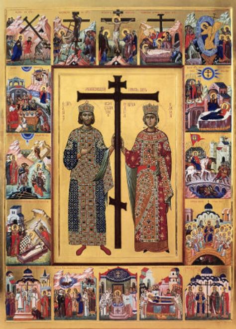 Saints Constantine & Helen Icon