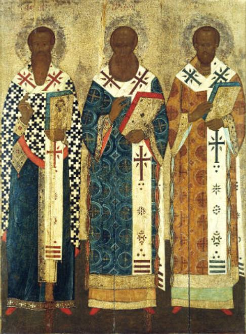 Three Holy Hierarchs Icon- Icon II