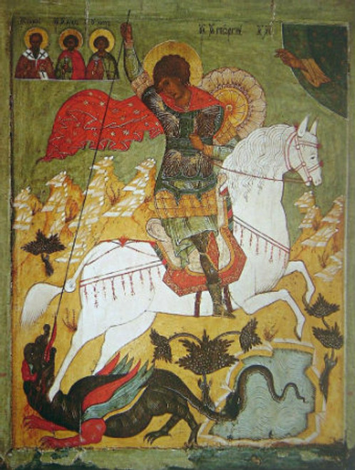 St. George Icon- Icon VI