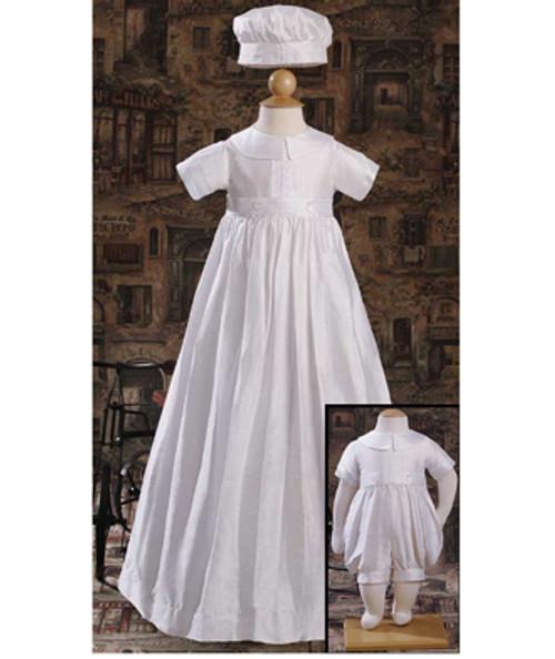 Boys Silk Dupioni Convertible Gown