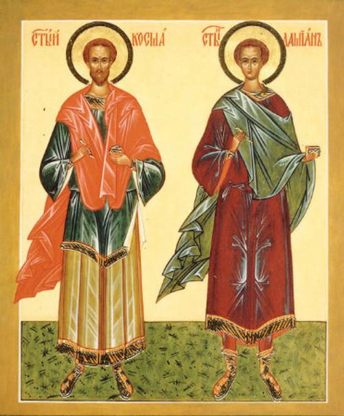 Ss. Kosmas and Damian Icon
