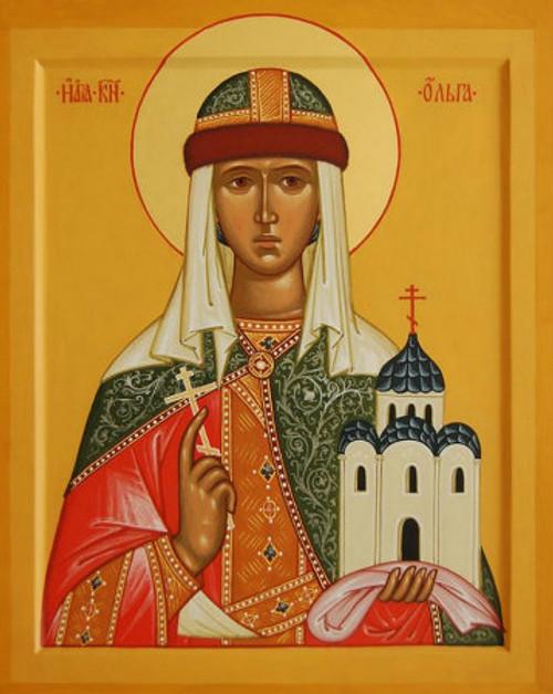 St. Olga of Kiev Icon- Icon III