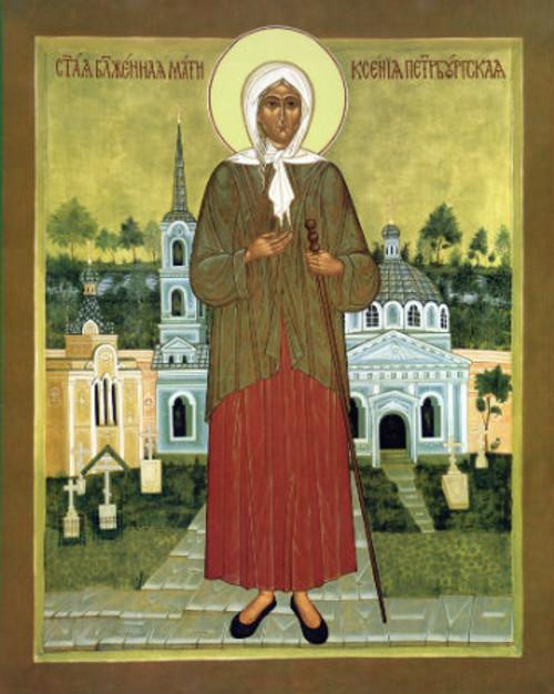 St. Xenia Icon