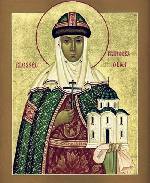 St. Olga of Kiev Icon- Icon II