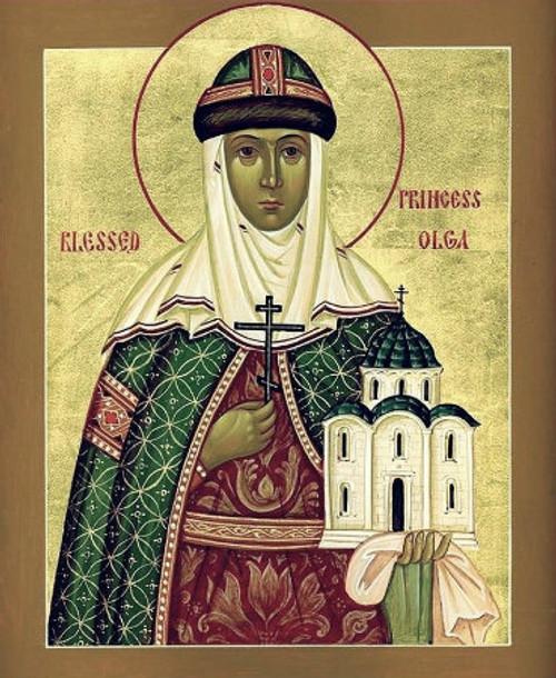 St. Olga of Kiev Icon- Icon II