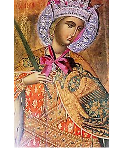 St. Catherine Icon- L