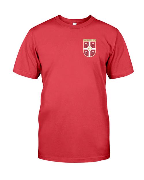 Serbian Soccer Men's T-Shirt