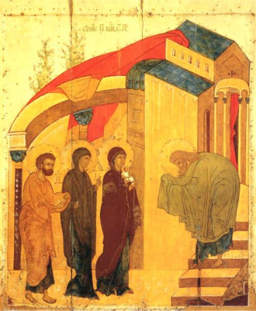 St. Simeon the God-Receiver Icon- Icon II