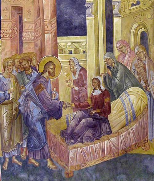 Raising of Jairus' Daughter Icon