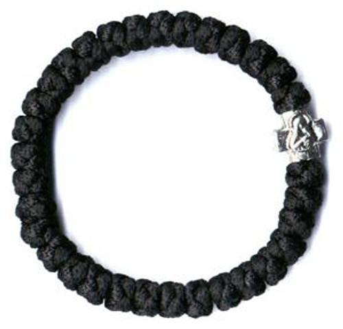 33 Knot Prayer Rope (Black- Mt. Athos)