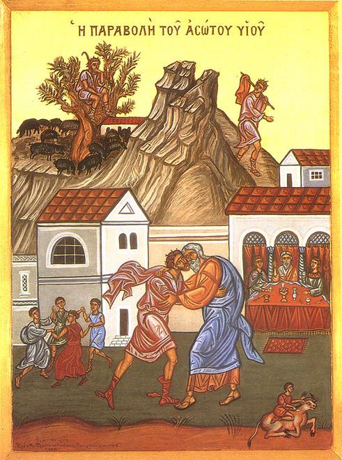 Prodigal Son Icon- Icon III